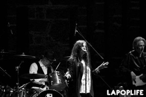 Patti Smith en el Museo Anahuacalli