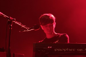 James Blake en El Plaza