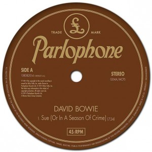 "David Bowie estrena el sencillo ""Sue (or In A Season Of Crime)"""