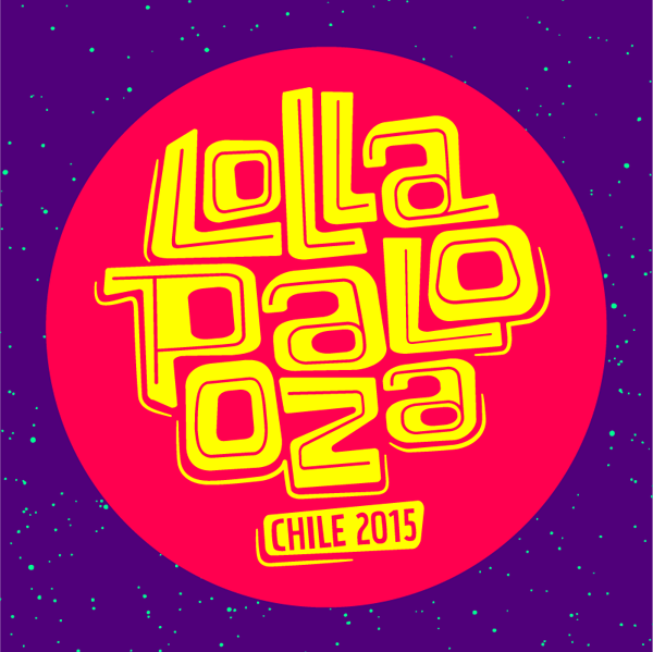 Cartel de Lollapalooza Chile 2015