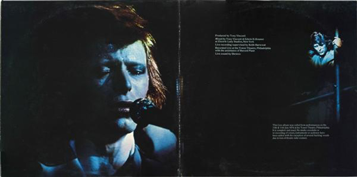 david bowie live inside
