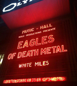 Eagles of Death Metal L'Olympia Paris 2