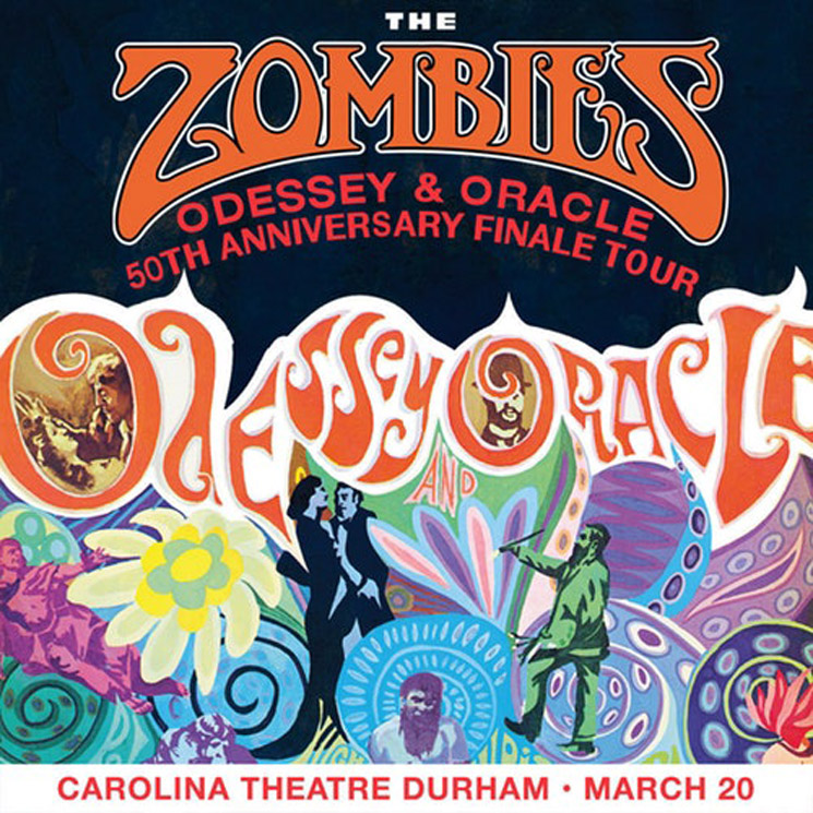 The Zombies Odessey and Oracle 50