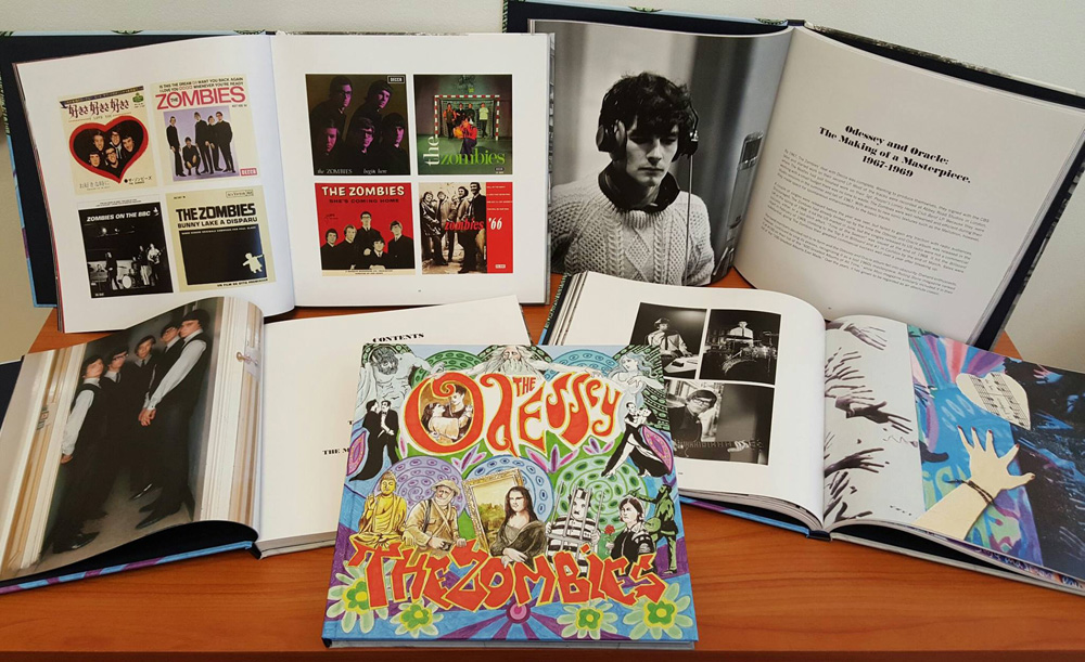 The Zombies Odessey and Oracle book inside