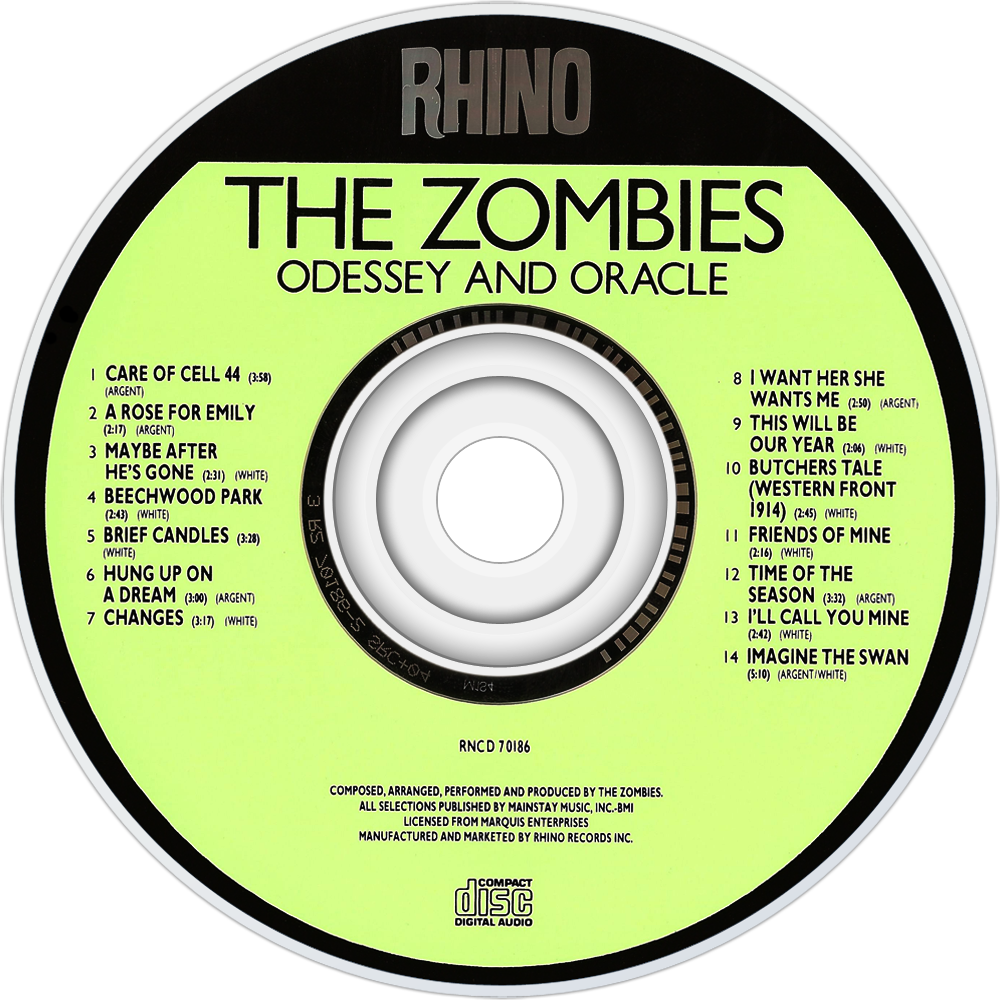 the zombies odessey and oracle CD