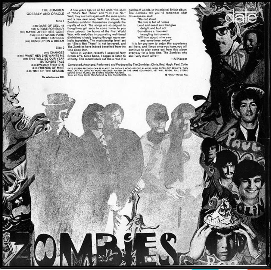 the zombies odessey and oracle back